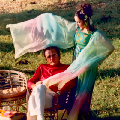 Elizabeth Taylor and Richard Burton wedding, Chobe Game Lodge October 1975