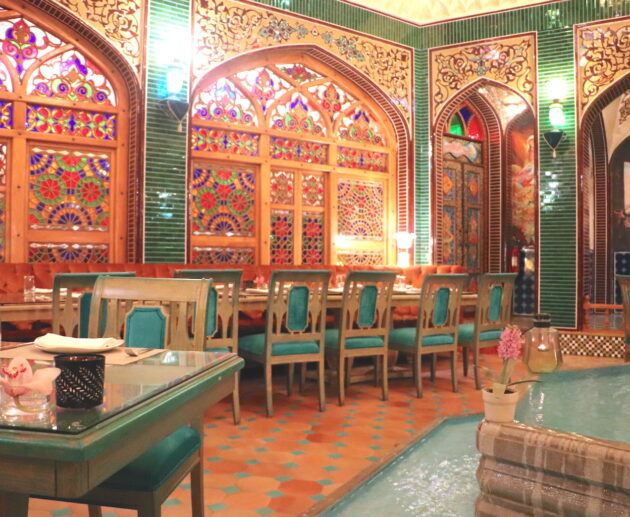 Parisa restaurant Doha. By Katrina Holden