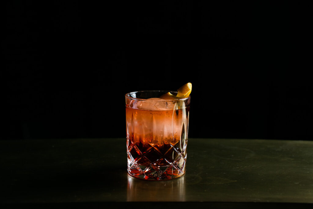 Alibi Kitchen and Bar Sydney, Negroni Cocktail, Ovolo Hotel